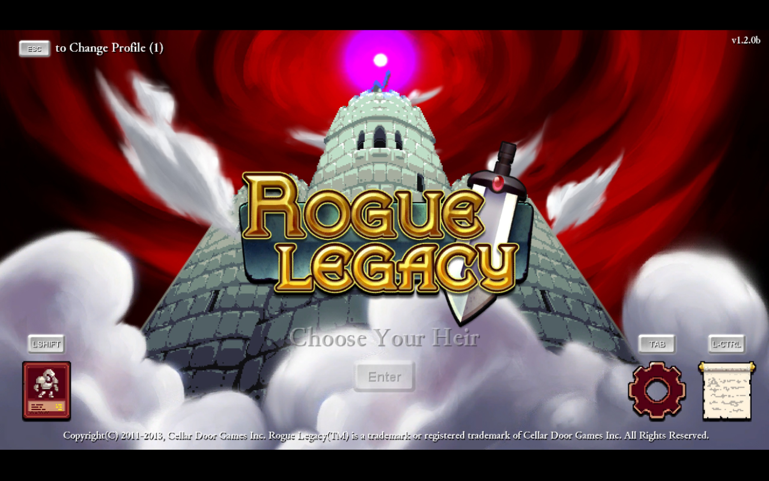 Playing Rogue Legacy