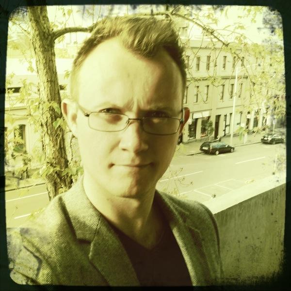 Photo of author Ben Hourigan.