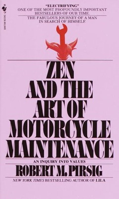 Zen and The Art of Motorcycle Maintenance cover